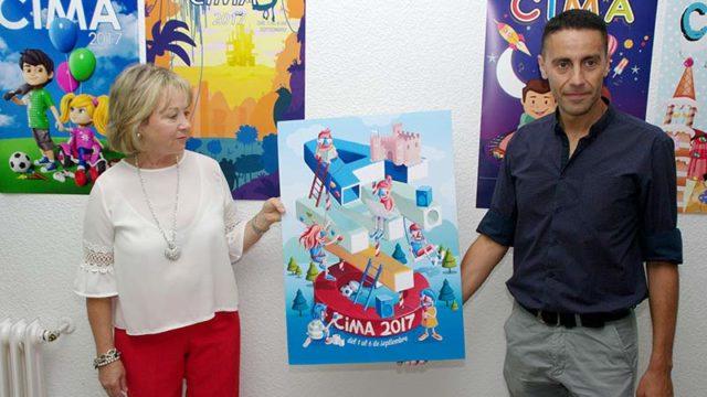 'Diversión de altura' de Pedro Andrés San Millán gana el concurso de carteles de CIMA 2017