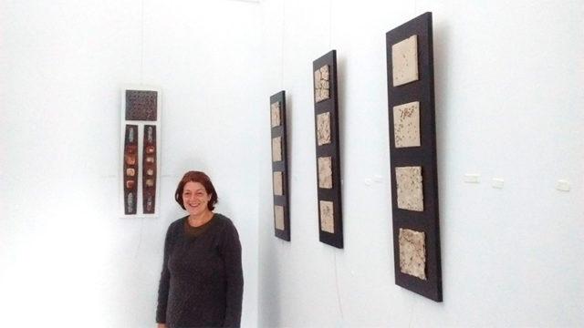 La Casa del Parque las Médulas expone 'El paso del tiempo' de Rosa María Martín