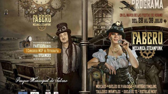 Música, talleres, juegos y mercado en la Steampunk de Fabero