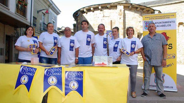 Ayuntamiento, asociaciones y hosteleros dinamizan el Camino de Santiago en Cacabelos