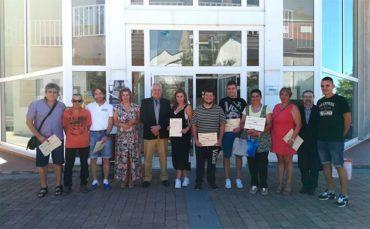 32 personas finalizan en Ponferrada y Fabero los programas de empleo de la Junta y el Consejo Comarcal