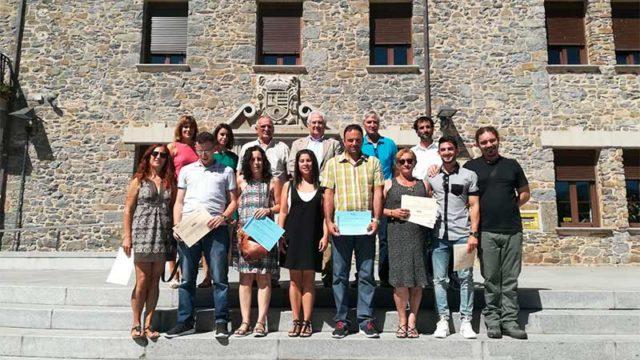 Ocho alumnos finalizan el taller de empleo 'La Picota VI' en Toreno