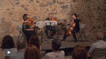 El Cuarteto Boissier vuelve a Corteza de Encina para interpretar a Haydn y Smetana