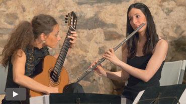 Nácar, un dúo que explora con frescura el repertorio de compositores contemporáneos de guitarra y flauta