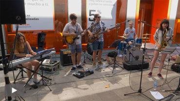 El jazz en la calle del KM.251 da paso también a los jóvenes intérpretes de Next Generation Combo