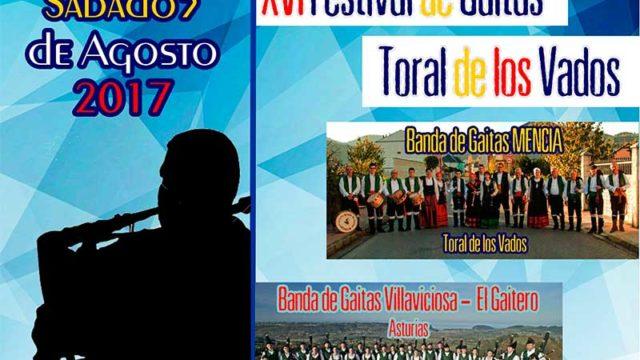 XVI Festival de Gaitas en Toral de los Vados