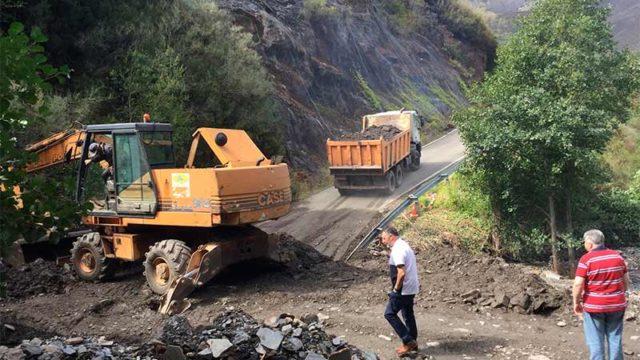 El Ayuntamiento abre provisionalmente la carretera a Peñalba y pedirá el asfaltado de la pista de San Cristóbal