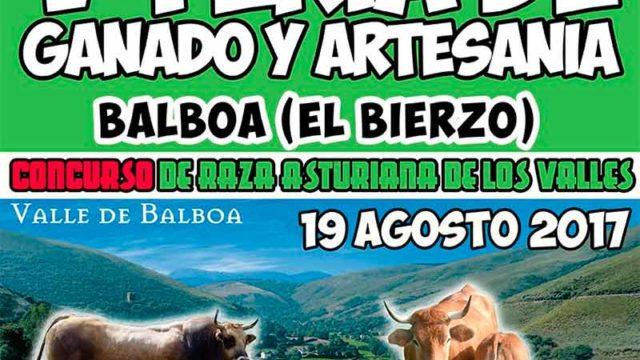 Balboa recupera un año más la Feria de Ganado y Artesanía