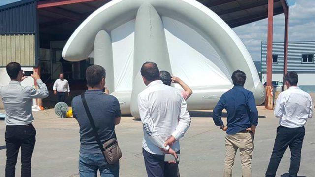 La Fundación Santa Bárbara diseña un sistema de ventilación más seguro para túneles en construcción
