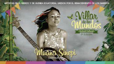 Villar de los Mundos arranca el viernes sin la cantante guineana Muana Sinepi