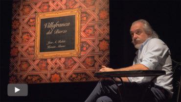 Robés y Alonso presentan el libro embajador de la cultura, el patrimonio y el entorno natural de Villafranca del Bierzo