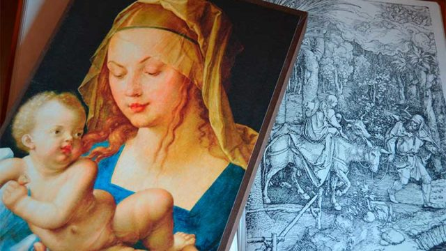 El códice de la Virgen de Durero estará en la eucaristía del Día de la Encina
