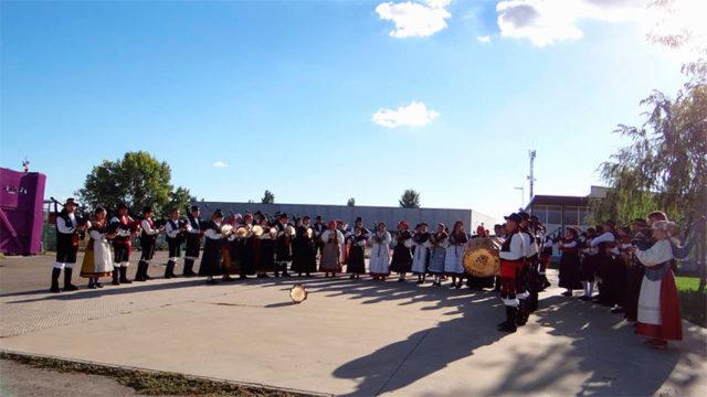 Bembibre acoge el VII Encuentro Intermunicipal de Agrupaciones de Gaitas