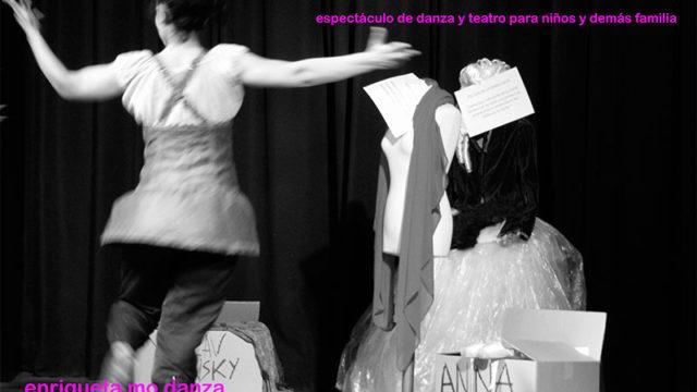 Enriqueta Mo Danza presenta en Cubillos 'Las zapatillas de Paulova'