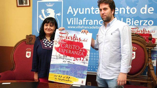 Raúl Pérez será el pregonero de las Fiestas del Cristo de Villafranca