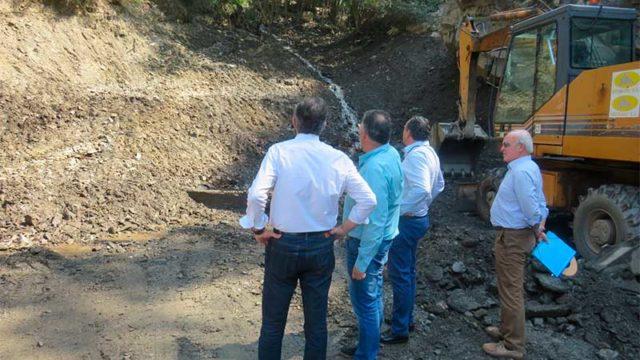 Diputación invertirá 420.000 euros en obras de emergencia en el acceso a Peñalba