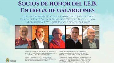 El IEB entregará los galardones Socio de Honor en una jornada dedicada a los canales de las Médulas