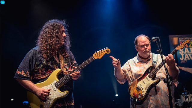 La Sala Tararí presenta a Buddy Whittington & Santiago Campillo Band
