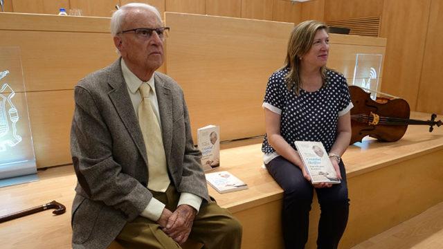 'Cristóbal Halffter una vida para la música', un libro de vivencias y experiencias escrito en el Bierzo