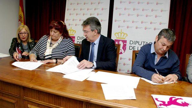 Diputación destina 20.700 euros a AFA Bierzo, BEDA y COCEMFE