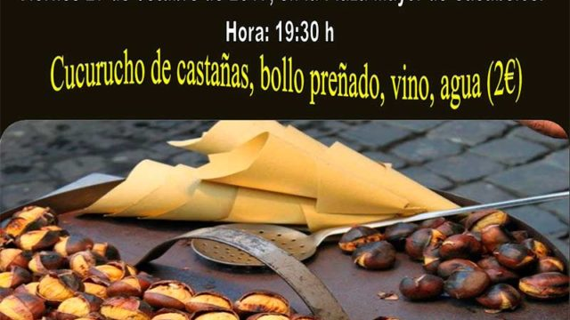 Cacabelos celebra el Magosto Popular el viernes 27 en la Plaza Mayor