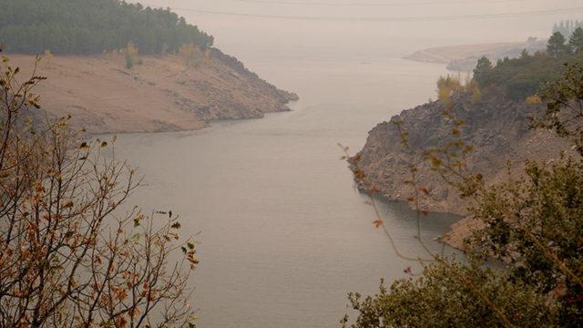 A la espera de lluvia en diciembre, el embalse de Bárcena está al 28% de su capacidad