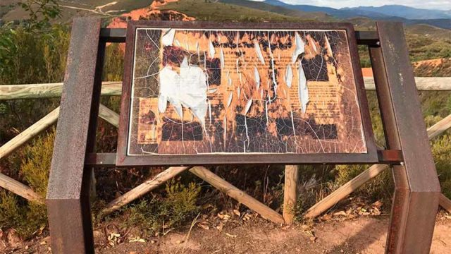Ciudadanos pide a la Junta la renovación de la señalización de la ruta turística de la Leitosa