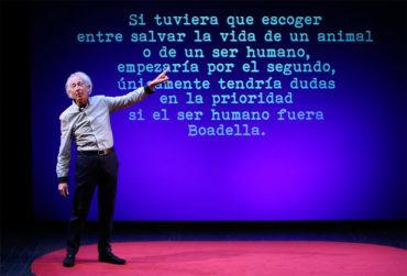 Albert Boadella se interpreta a sí mismo con libertad, humor y osadía en 'El sermón del bufón'