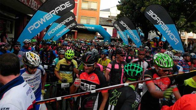 550 ciclistas y 170 corredores participan en la séptima edición de la Trepaviñas