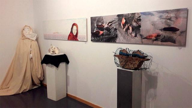 La sala de exposiciones del Campus presenta la muestra colectiva 'Una de cada'