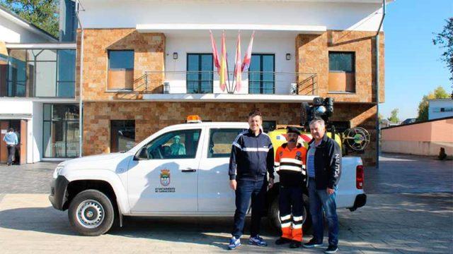 Carracedelo invierte 30.000 € en un vehículo para prevención y extinción de incendios