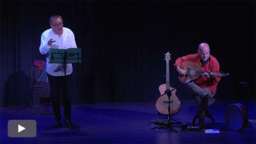 'La palabra y la música del Mediterráneo' con Joansa Meravella y Javier Vecino