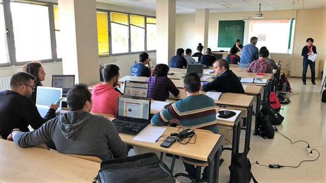 El Campus de Ponferrada forma a profesionales de la extinción y prevención de incendios