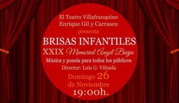 Recital de poesía del coro Brisas Infantiles en el Teatro Villafranquino