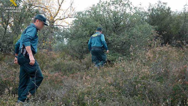 La Guardia Civil localiza a una persona mayor desaparecida en Vilela