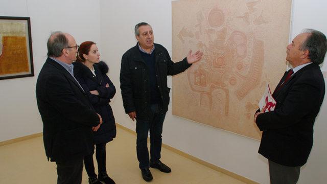 Diez pintores y diez estéticas del arte de vanguardia leonés en 'Lectura de clásicos'