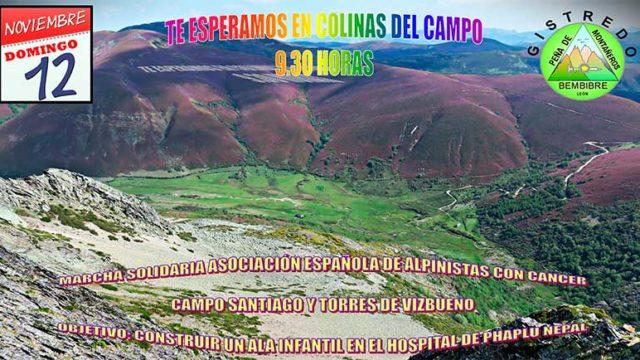 La Peña de Montañeros de Gistredo organiza una marcha solidaria a Campo Santiago