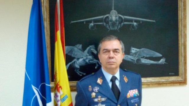 Rubén García, comandante del Centro de Operaciones Aéreas de la OTAN, pregonero de la Semana Santa de Ponferrada 2018