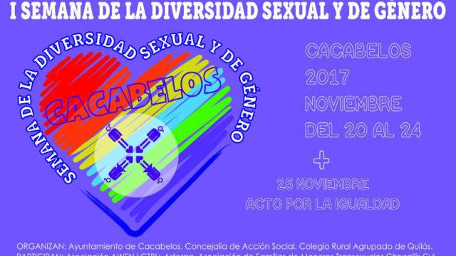 Cacabelos celebra la I Semana sobre la Diversidad Sexual y de Género