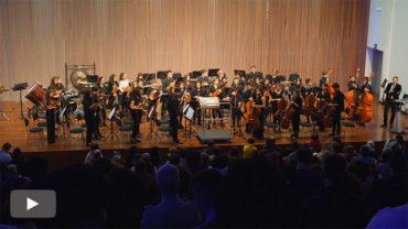 El Conservatorio guarda un minuto de silencio por Marita Caro en el Concierto de Navidad y pedirá poner su nombre al Auditorio