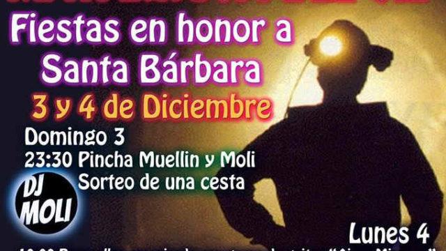 Fiestas en honor a Santa Bárbara en Matarrosa del Sil