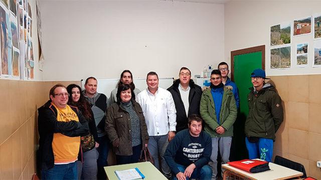 El taller de empleo Ancares IV trabajará en la recuperación del monte 'Peña de la Marquesa'