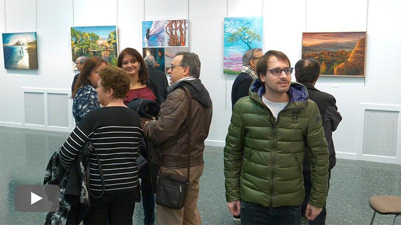 La asociación de Pintores del Bierzo presenta su exposición anual en la Casa de la Cultura