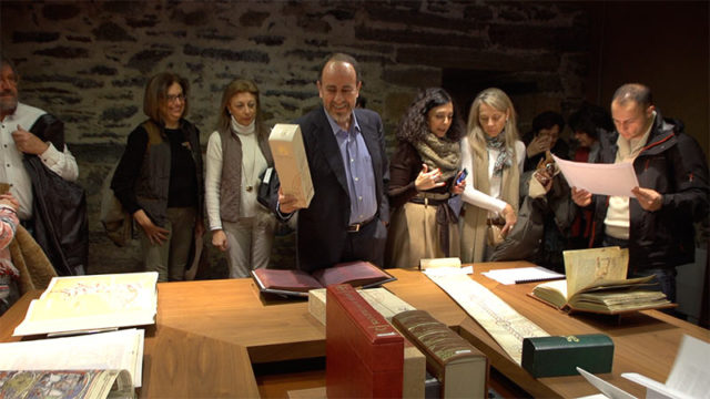 Antonio Ovalle ofrece una visita guiada a los libros de invierno de Templum Libri