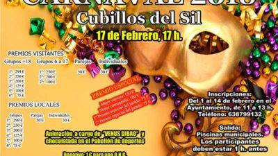 Cubillos del Sil publica las bases reguladoras del Desfile de Carnaval 2018