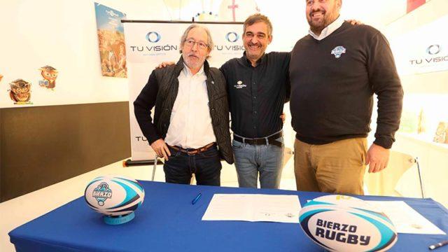 Tu Visión y Bierzo Rugby formalizan un acuerdo de colaboración para las actividades deportivas del club