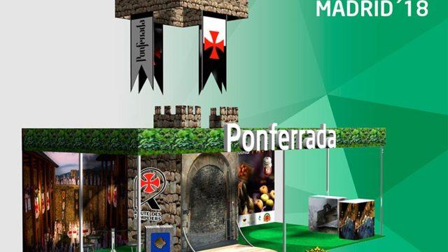 El lema para FITUR este año será 'Ponferrada: caminos, vino y Castillo'