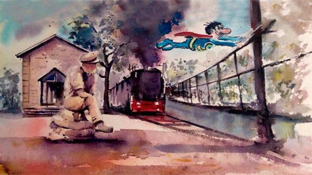 Toral de los Vados presenta en Fitur un folleto turístico 'Súbete al tren'