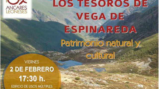 """Alipio García de Celis presenta el libro """"Los paisajes glaciares de Burbia y otros lugares de interés natural de Vega de Espinareda"""""""