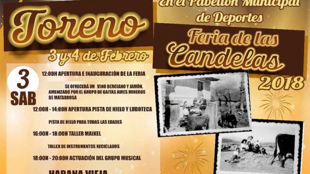 Toreno celebra la Feria de las Candelas